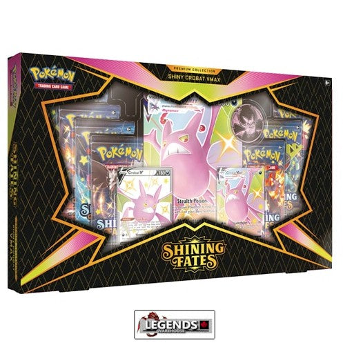 POKEMON - SHINING FATES - SHINY CROBAT V PREMIUM COLLECTION BOX    (PRE-ORDER)