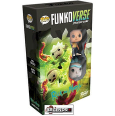 POP! FUNKOVERSE STRATEGY GAME - Rick & Morty Expandalone    #FNK42634