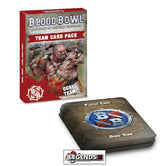 BLOOD BOWL - The Fire Mountain Gut Busters  - Ogre Team Card Pack