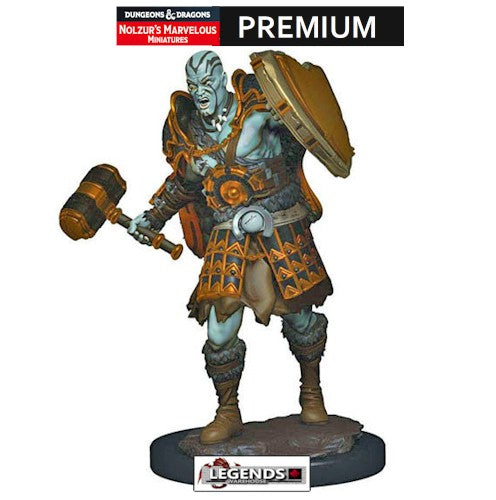 DUNGEONS & DRAGONS -  Premium Painted Figure:  Male Goliath Fighter #WZK93014