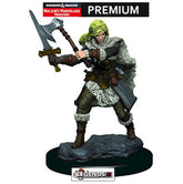DUNGEONS & DRAGONS -  Premium Painted Figure:  Female Human Barbarian #WZK93820