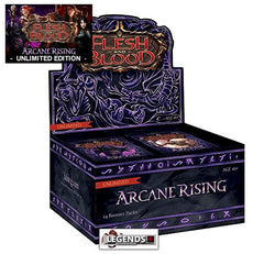 FLESH AND BLOOD - ARCANE RISING - BOOSTER BOX - UNLIMITED EDITION