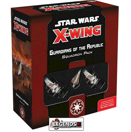 STAR WARS - X-WING - 2ND EDITION  - Guardians of the Republic Squadron Pack