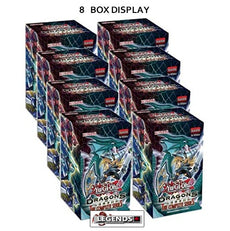 YUGI -OH  -  DRAGONS OF LEGEND THE COMPLETE SERIES - 8 BOX DISPLAY