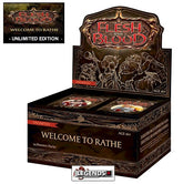 FLESH AND BLOOD - WELCOME TO RATHE - BOOSTER BOX - UNLIMITED EDITION