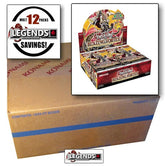 YUGI-OH  - BLAZING VORTEX BOOSTER BOX CASE- 1ST EDITION - (12 BOOSTER BOX) [Sealed]