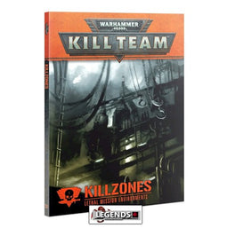 WARHAMMER 40K - KILL TEAM - KILLZONES BOOK      (2021)  (PRE-ORDER)