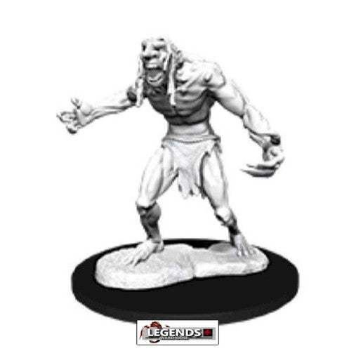 DUNGEONS & DRAGONS - UNPAINTED MINIATURES:   RAGING TROLL (1)    #WZK90081