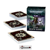 WARHAMMER 40K - DATACARDS - DEATH GUARD (9th EDITION) (2021)