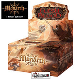 FLESH AND BLOOD - MONARCH - BOOSTER BOX - 1ST EDITION   (PRE-ORDER)
