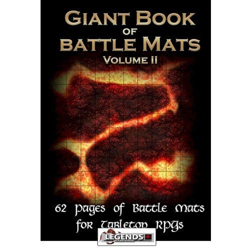 GIANT BOOK OF BATTLE MATS - VOLUME 2