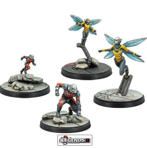 MARVEL CRISIS PROTOCOL - Ant-Man & Wasp Character Pack
