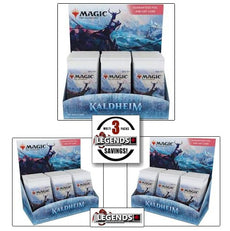 MTG - KALDHEIM - SET - BOOSTER BOX - 3-BOX MULTI-PACK   ENGLISH