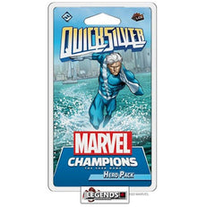 MARVEL CHAMPIONS - LCG - QUICKSILVER   HERO PACK EXPANSION