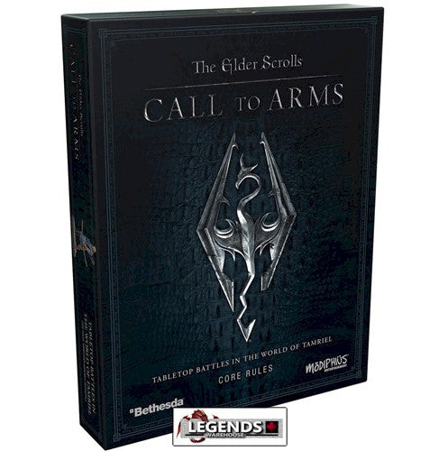 THE ELDER SCROLLS - CALL TO ARMS :  Core Rules Box  #MUH052029