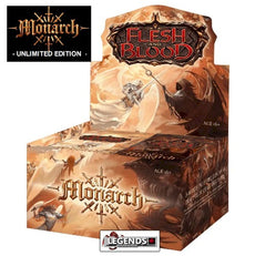 FLESH AND BLOOD - MONARCH - BOOSTER BOX - UNLIMITED EDITION   (PRE-ORDER)