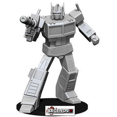 TRANSFORMERS - Deep Cuts Unpainted Miniatures:   OPTIMUS PRIME