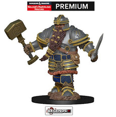 DUNGEONS & DRAGONS -  Premium Painted Figure:  Male Dwarf Fighter  #WZK93010