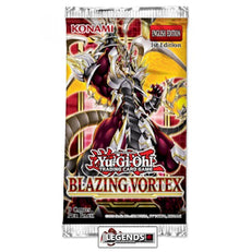 YUGI-OH  - BLAZING VORTEX BOOSTER PACK- 1ST EDITION