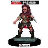 DUNGEONS & DRAGONS -  Premium Painted Figure:  Female Halfling Rogue  #WZK93019