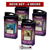 MTG - BRAWL DECKS 2019 - SET OF 4