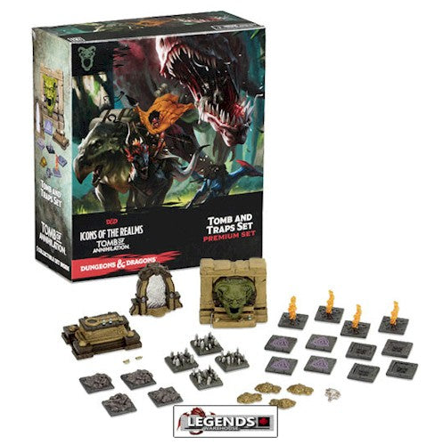 DUNGEONS & DRAGONS ICONS - PREMIUM FIGURE:  Tomb of Annihilation - Tombs & Traps