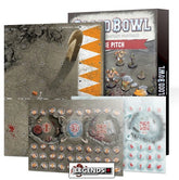BLOOD BOWL - Ogre Team Pitch & Dugouts