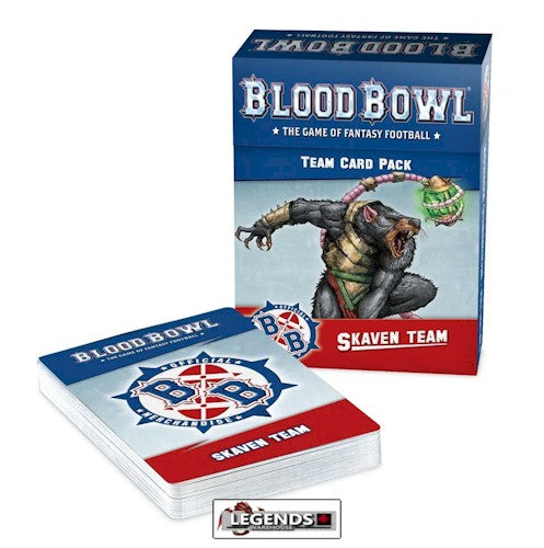 BLOOD BOWL - SKAVEN - TEAM CARD PACK