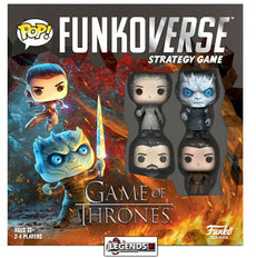 POP! FUNKOVERSE STRATEGY GAME - GAME OF THRONES - BASE SET   #FNK46060