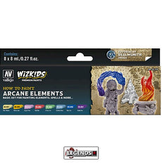 VALLEJO / WIZKIDS - PREMIUM PAINTS - HOW TO PAINT - ARCANE ELEMENTS