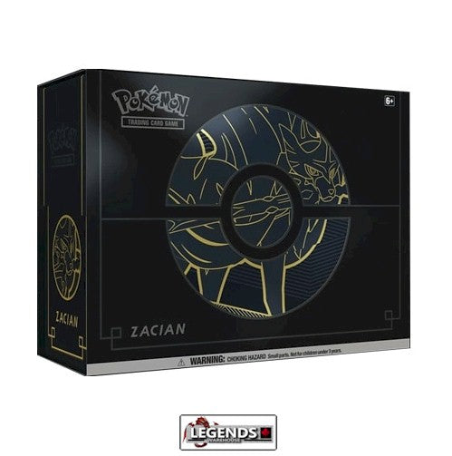 POKEMON - SWORD AND SHIELD - ZACIAN ELITE TRAINER BOX PLUS  (PRE-ORDER)