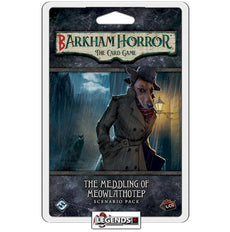 ARKHAM HORROR LCG:   Barkham Horror - The Meddling of Meowlathotep Scenario Pack: