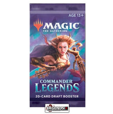 MTG - COMMANDER LEGENDS - DRAFT - BOOSTER PACK - ENGLISH