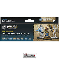 VALLEJO / WIZKIDS - PREMIUM PAINTS - HOW TO PAINT - PROTECTORS OF VIRTUE