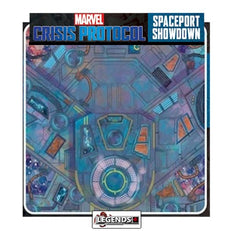 MARVEL CRISIS PROTOCOL -  SPACEPORT SHOWDOWN GAME MAT