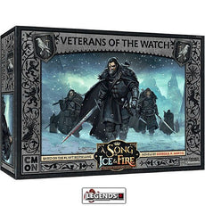 A Song of Ice & Fire: Tabletop Miniatures Game - NIGHT WATCH - VETERANS OF THE WATCH   Product #CMNSIF303