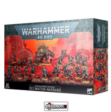 WARHAMMER 40K - BATTLEFORCE -CHAOS SPACE MARINES - DECIMATION WAR
