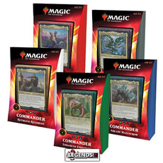 MTG COMMANDER - 2020 -  - IKORIA - DECK SET  (Set of 5)