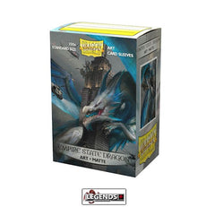 DRAGON SHIELD DECK SLEEVES  • Matte - EMPIRE STATE DRAGON  (100)