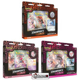 POKEMON - CHAMPION'S PATH - SPECIAL PIN COLLECTION - TRIPLE PACK SET