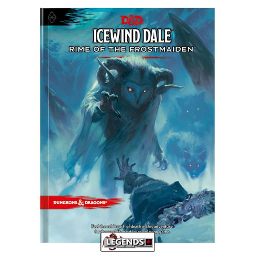 DUNGEONS & DRAGONS - 5th Edition RPG:  ICEWIND DALE - RIME OF THE FROSTMAIDEN  - REG. COVER