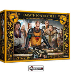 A Song of Ice & Fire: Tabletop Miniatures Game - BARATHEON HEROES #1   Product #CMNSIF809