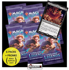 MTG - COMMANDER LEGENDS - PRE-RELEASE KIT - LIMIT 1 KIT PER CUSTOMER  (PICK-UP ONLY ITEM!)