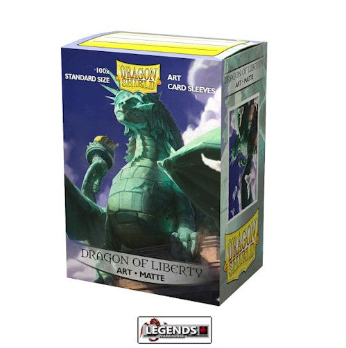 DRAGON SHIELD DECK SLEEVES  • DRAGON OF LIBERTY 2020 LIMITED EDITION - MATTE ART SLEEVES