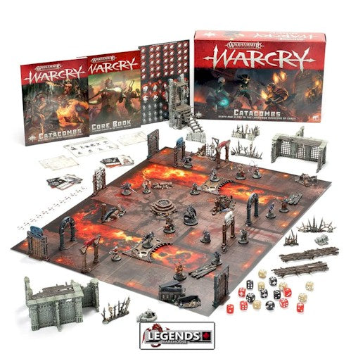 WARHAMMER: AGE OF SIGMAR - WARCRY - CATACOMBS  STARTER SET