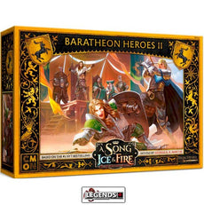 A Song of Ice & Fire: Tabletop Miniatures Game - BARATHEON HEROES #2   Product #CMNSIF810
