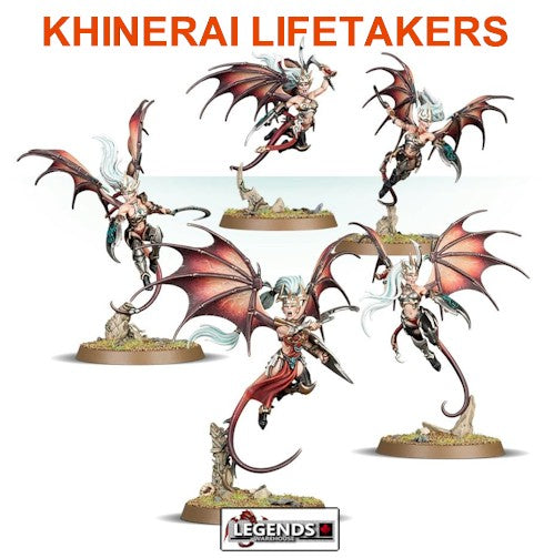 AGE OF SIGMAR - DAUGHTERS OF KHAINE - KHINERAI LIFETAKERS OR HEARTRENDERS