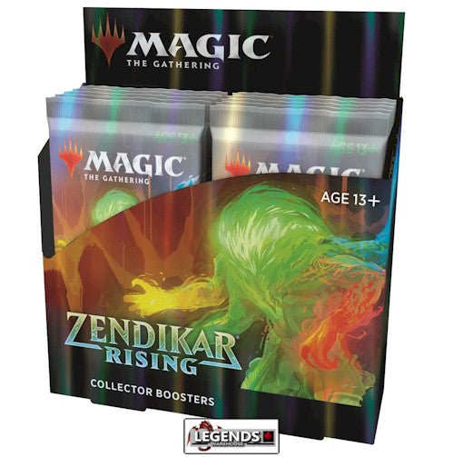 MTG - ZENDIKAR RISING - COLLECTOR BOOSTER BOX - ENGLISH