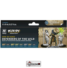 VALLEJO / WIZKIDS - PREMIUM PAINTS - HOW TO PAINT - DEFENDERS OF THE WILD