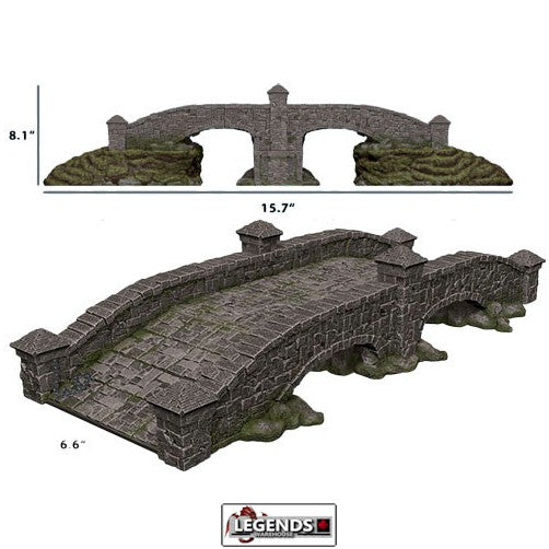 WIZKIDS 4D SETTINGS - STONE BRIDGE